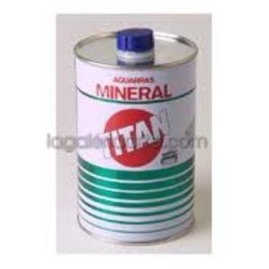 Aguarras Mineral TITAN Bote Metalico 250ml
