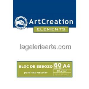 Bloc Esbozo A5 80 hojas Art Creation