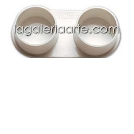 Aceitera Doble Polipropileno 35mm