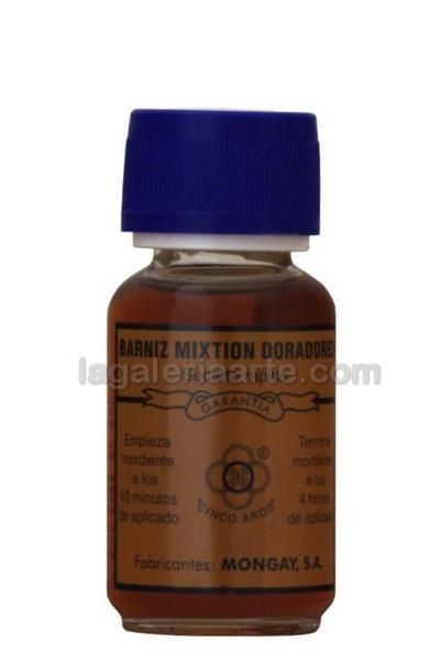 Barniz Mixtion para Doradores 5 AROS 50ml