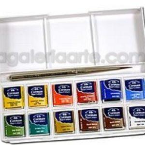 Caja de Bolsillo Acuarela Pocket Box 12 Cotman WINSOR & NEWTON