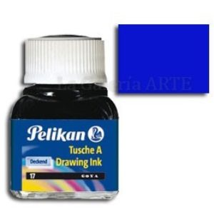 Tinta China Pelikan Azul Ultramar Nº9 10ml