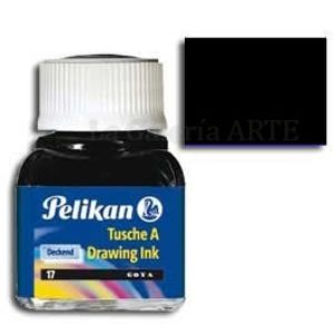 Tinta China Pelikan Negra Nº17 10ml
