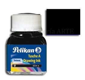 Tinta China Pelikan Negra Nº17 10ml