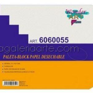 Bloc-Paleta 23x30,5cm 36 Hojas Desechables Wonder ART