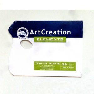 Bloc-Paleta 22,5x30cm 36 Hojas Desechables ArtCreation
