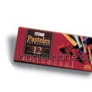 Pasteles EXTRAFINOS TITAN 12 un.