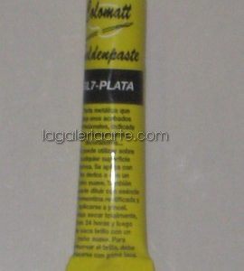 Pasta Metalica Golden Paste Plata
