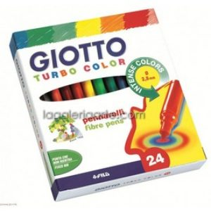Rotuladores GIOTTO Turbo Color 24un.