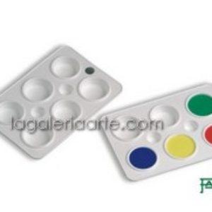 Paleta de Polipropileno FAIBO 6 recipientes 15x22cm