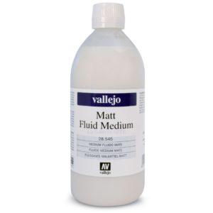 Medium Acrilico Fluido Mate 28.545 Vallejo 500ml
