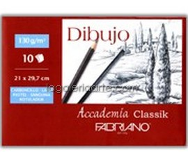 Pack Dibujo A4 FABRIANO 10 Hojas
