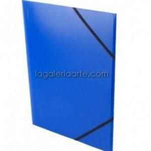 Carpeta 49x37cm Azul