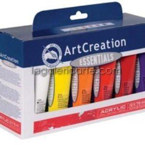 Set Basico Acrilico ArtCreation 12x75ml
