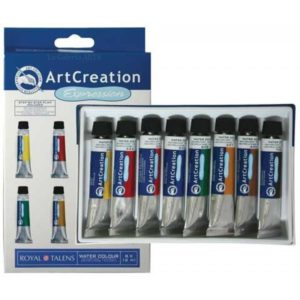 Set Acuarela 8 x 12ml Art Creation Expression