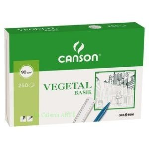 Papel Vegetal 90g CANSON 250 Hojas A-4