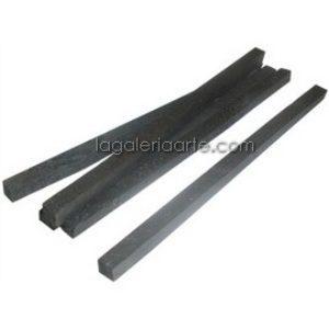 Carboncillo Cuadrado 5unidades 150x5x5mm