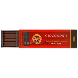 6 Minas Gioconda Dark Brown Sepia 5,6mm