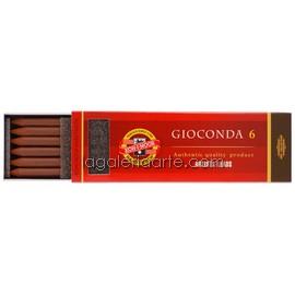 6 Minas Gioconda Light Brown Sepia 5,6mm