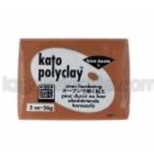 Kato Polyclay Nº32 Marron 56g