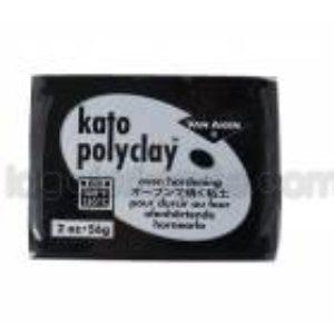 Kato Polyclay Nº52 Negro 56g