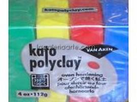 Set Kato Polyclay Nº1 Primarios 112g