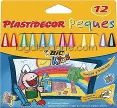 PLASTIDECOR Peques 12 unidades