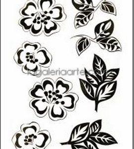 Calca Flores Negras 2007