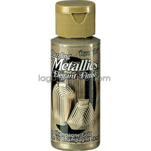 Pintura Metalizada Acrilica Champagne Gold Dazzling Metallics202