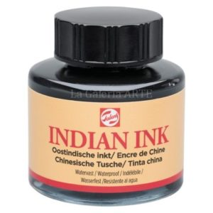 Tinta China Indian Ink TALENS Negra 30ml