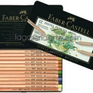 Lapices Pastel 12 un. FABER-CASTELL