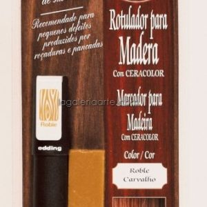Rotulador con Ceracolor para Madera color Pino