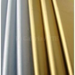 Papel de Seda Metalizado Oro 25 Hojas
