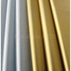 Papel de Seda Metalizado Plata 25 Hojas