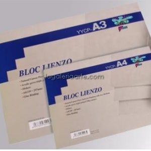 Bloc Lienzo A4 Wonder ART 10 hojas