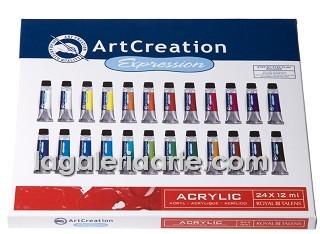 Estuche Acrilico 24 X 12ml Art Creation Expression