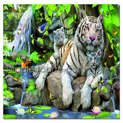 Tigres Blancos de Bengala 1.000P.