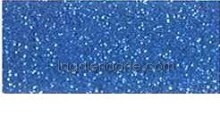 Goma Eva Super Glitter Azul Cyan 60x40