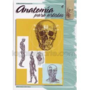 Anatomia para Artistas 4, col. Leonardo