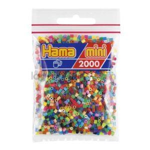 Hama Mini Mix 2.000 Piezas 48 Colores Ref:501-00