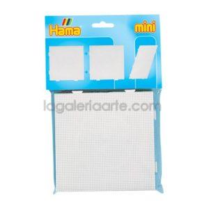 Hama Placas/Pegboards 2un. 15x15cm Mini + Papel Hama
