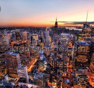 Atardecer en Manhattan 3000P