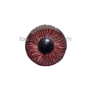 Ojos Marron Redondos 13mm 2 unidades