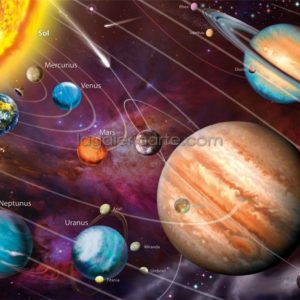 Puzzle Sistema Solar 1000P