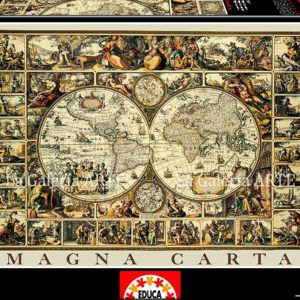 Puzzle Educa Magna Carta Anonimo 1500 P