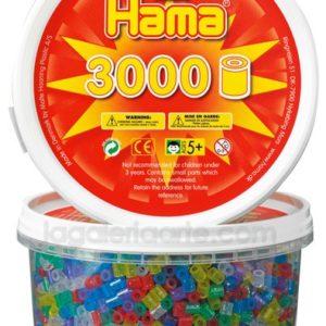 Hama midi mix 210-54 (purpurina) 3000 piezas en bote