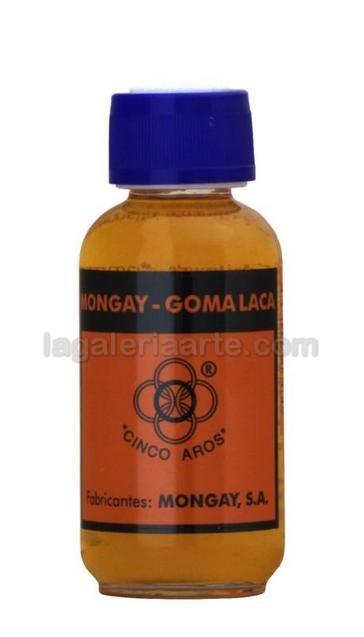 Goma Laca Mongay 5 Aros 125ml