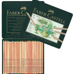 Lapices Pastel 24 un. FABER-CASTELL