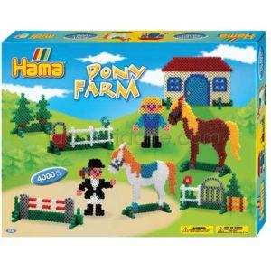 Caja Hama granja de ponis Ref: 3136