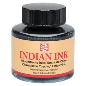 Tinta China Indian Ink TALENS Negra 11ml